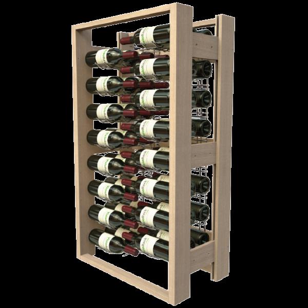 Weinregal aus Holz für 48 Flaschen
