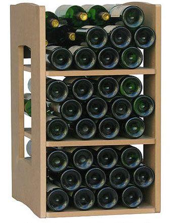 Cavicase Standard für bis zu 72 Flaschen, Weinregal-System aus Holz