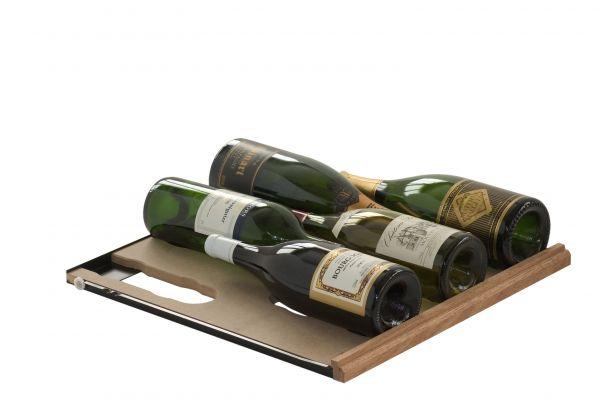Ausziehbares Gleitregal für Magnumflaschen für die Weinlager- und Klimalösung Cavispace