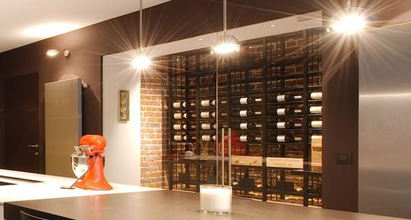 Weinkeller: Individuelles Komplettsystem im Wohnbereich